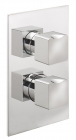 Sagittarius Matisse Concealed Thermostatic Shower Valve with 2 Way Diverter - Chrome MA177C