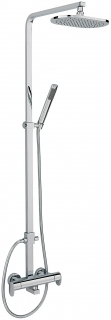 Sagittarius Metro Thermostatic Shower with Riser Rail and Handset