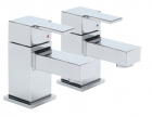 Sagittarius Navona - Basin Tap - Deck Mounted Monobloc (With Klick Klack Waste) - Chrome - NV/106/C
