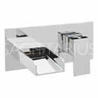 Sagittarius Nice - Basin Tap - Wall Mounted Mixer - Chrome - NI/207/C
