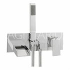 Sagittarius Nice - Bath Tap - Wall Mounted Bath Shower Mixer - Chrome - NI/127/C