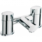Sagittarius Oveta - Bath Tap - Deck Mounted Bath Filler - Chrome - OV/104/C