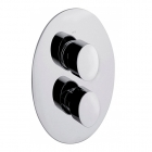 Image for Sagittarius Oveta Concealed Thermostatic Shower Valve with 2 Way Diverter - Chrome OV177C