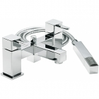 Sagittarius Pablo - Bath Tap - Deck Mounted Bath Shower Mixer (With No1 Kit) - Chrome - PA/105/C