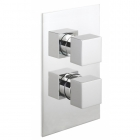 Sagittarius Pablo Concealed Thermostatic Shower Valve with 2 Way Diverter - Chrome PA/177/C