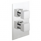 Sagittarius Pablo Concealed Thermostatic Shower Valve - Chrome PA172C