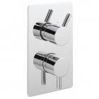 Sagittarius Piazza Modern Concealed Thermostatic Shower Valve with 2 Way Diverter - Chrome PI177C