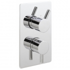 Sagittarius Piazza Modern Concealed Thermostatic Shower Valve - Chrome PI172C