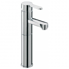 Sagittarius Plaza - Basin Tap - Deck Mounted Extended Mixer (With Klick Klack Waste) - Chrome - PL/109/C