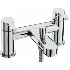 Image for Sagittarius Plaza - Bath Tap - Deck Mounted Bath Shower Mixer & Kit - Chrome - PL/105/C