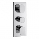 Sagittarius Plaza Concealed Thermostatic Shower Valve with 3 Way Diverter - Chrome PL277C