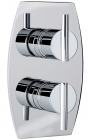 Sagittarius Pure Concealed Thermostatic Shower Valve with 2 Way Diverter - Chrome PU177C