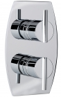 Sagittarius Pure Concealed Thermostatic Shower Valve - Chrome PU172C