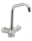 Sagittarius Questflo Thermostatic Monobloc Kitchen Sink Mixer Tap QU/152/C