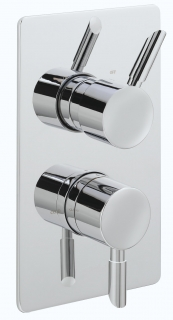 Rocco Concealed Shower Valve with Two Way Diverter