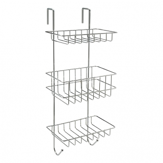 Sagittarius Shower Cubicle Shelf Tidy - Chrome AC/686/C