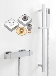 Sagittarius Stark Cube Mixer Shower (Easy Fit) SHOW42