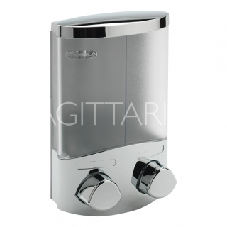 Sagittarius Torino 2 Section Soap Dispenser - Chrome AC/270/C
