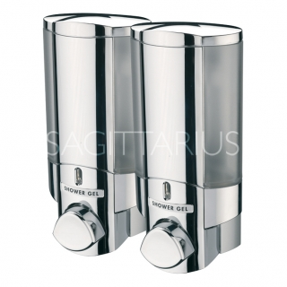 Sagittarius Vienna 2 Section Soap Dispenser - Chrome AC/242/C