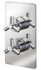 Sagittarius Zone Concealed Thermostatic Shower Valve - Chrome ZO172C