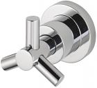 Sagittarius Zone Diverter 3 Way Wall Mounted - Chrome ZO194C