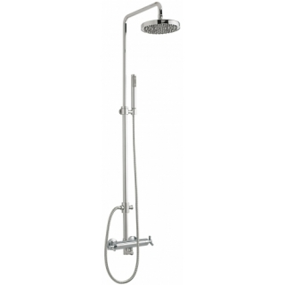 Sagittarius Zone Exposed Thermostatic Shower Valve and Riser Rail Kit