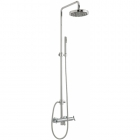 Sagittarius Zone Exposed Thermostatic Shower Valve and Riser Rail Kit - Chrome ZO248C