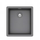 Image for SCHOCK Brooklyn 100S Undermount/Inset 1.0 Bowl Granite Kitchen Sink Croma (Inc. Waste) - BYKN100S49