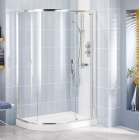 Showerlux Glide Offset Round Single Door