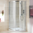 Showerlux Glide Round Single Door