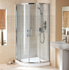 Showerlux Glide Round Twin Door