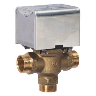 Siemens CMV328 3 Port 28mm Mid Position Motorised Valve