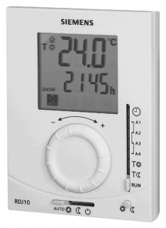 siemens rdj10 gb digital programmable room thermostat programmable thermostats. Black Bedroom Furniture Sets. Home Design Ideas