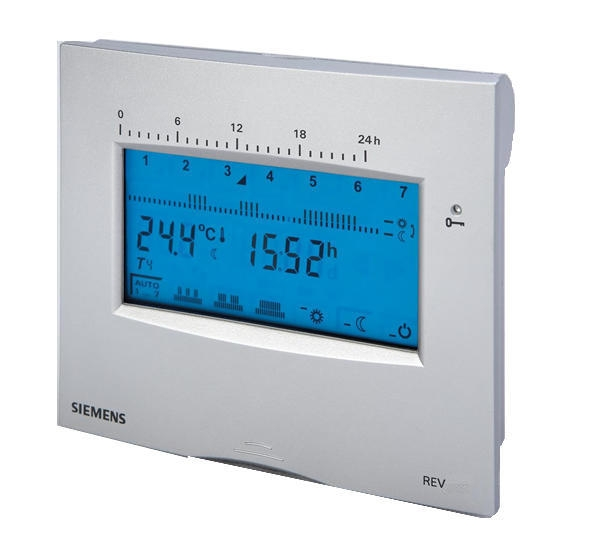 Siemens rev100 touch 24 hour programmable room thermostat - Termostato siemens rev 24 ...