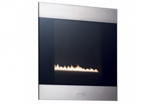 Smeg Classic Portrait Flueless Gas Fire - Natural Gas