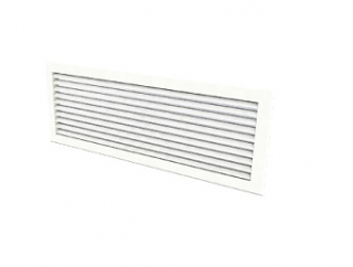 Smith's Anodised Aluminium Inlet / Outlet Grille