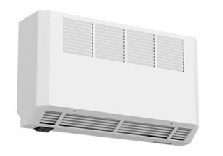 Smith's Ecovector HL1000 High Level Hydronic Fan Convector