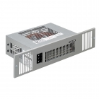 Image for Smith's Space Saver SS2E Electric Plinth Heater with Stainless Steel Grille