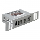 Image for Smith's Space Saver SS2E Electric Plinth Heater with White Grille