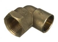 Solder Ring Adaptor Elbows - Female