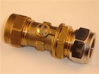 WORCESTER 87161424180 ISOLATOR VALVE 15MM-ONE C/NUT