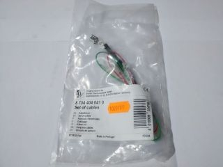 WORCESTER 87044040410 SET OF CABLES