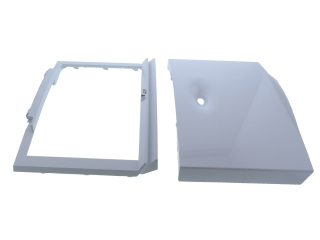 WORCESTER 87186913570 CONTROL COVER ASSEMBLY