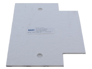 BAXI 231179 INSULATION FRONT COMB BOX