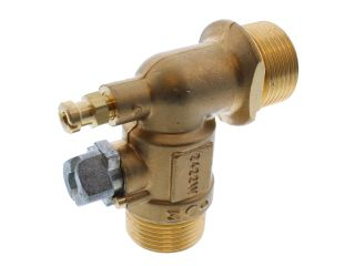 BAXI 240806 VALVE ANGLEDHILL WATER G3/4IN