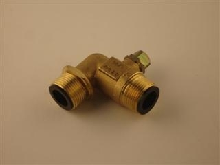 BAXI 240838 VALVE ANGLEDHILL GAS G3/4IN