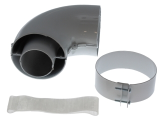 BAXI 247725 FLUE BEND KIT 90 DEG