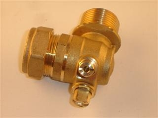 BAXI 5110546 VALVE FLOW/RETURN CH