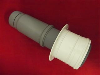 POTTERTON 991117 FLUE PIPE & ADAPTOR 51/60/80KW
