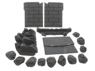 VALOR 5138415 CERAMICS SET COAL C1 (MOULDED)
